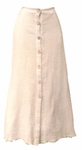 Amadi Kyra Button Front Skirt - Ginger