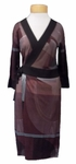 Anni Kuan Jido Dress - Plum Mix