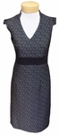 Anni Kuan Oto Dress - Black/Silver