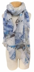 Banaris Cotton Scarf - Marbled - SOLD OUT