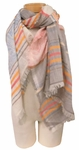 Banaris Cotton Scarf with 360 Fringe - New Mexico - SOLD OUT