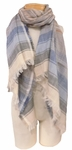 Banaris Cotton Scarf with 360 Fringe - Pennsylvania SOLD OUT