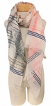 Banaris Cotton Scarf with Static Design - Flagstaff SOLD OUT