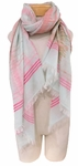 Banaris Cotton Scarf with Static Design - Sedona - SOLD OUT