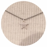 CAI Simple Silver Star Necklace SOLD OUT
