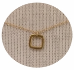 CAI Simple Square Necklace - SOLD OUT