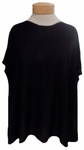 Eileen Fisher Bateau Neck Top - Black - SOLD OUT