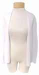 Eileen Fisher Boxy Linen Cardigan - White - (Size L)