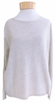 Eileen Fisher Sleek Tencel Merino Knit Bateau Neck Top - Maple Oat - SOLD OUT