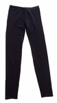 Eileen Fisher Tencel Stretch Terry Ankle Legging - Black