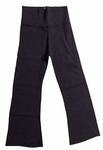 Hard Tail Foldover Cropped Bootcut Yoga Pants - Dark Charcoal