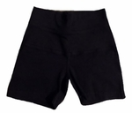 Hard Tail High Rise Bootie Shorts - Black