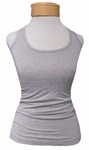 Hard Tail Racer Back Layer Tank - Heather