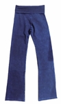 Hard Tail Rolldown Bootleg Flare - Mineral Wash - Blue