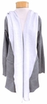 Hard Tail Slouchy Wrap Jacket - Heather