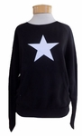 Hard Tail Star Pullover - Black - RESTOCKED!