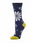 Little River Bohemian Floral Crew Sock - Navy Multi SOLD OUT
