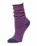 Little River Striped Slouch - Indigo/Orchid