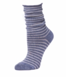 Little River Striped Slouch - Steel/Heather - SOLD OUT
