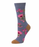 Little River Tapestry Floral Crew - Steel Multi