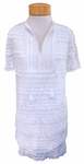 Margaret O'Leary All Over Lace Dress - White