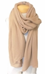 Margaret O'Leary Cashmere Travel Wrap - Brown Sugar - SOLD OUT