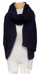 Margaret O'Leary Cashmere Travel Wrap - Midnight