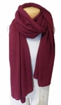Margaret O'Leary Cashmere Travel Wrap - Pinot -SOLD OUT