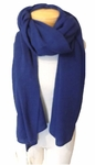 Margaret O'Leary Cashmere Travel Wrap - Prussian