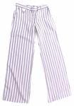 Margaret O'Leary Key Chain Pant - Navy Stripe