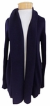 Margaret O'Leary Lana Cashmere Cardigan - Midnight