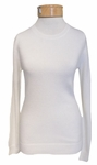 Margaret O'Leary Simple Cashmere Crew - Ivory