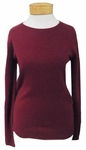 Margaret O'Leary Simple Cashmere Crew - Pinot