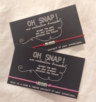 Oh Snap Bracelet - Square Silver - SOLD OUT