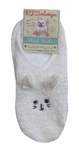 PJ Salvage Cozy Socks - Cat/Ivory