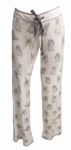 PJ Salvage Dog Print Pants - Ivory - SOLD OUT