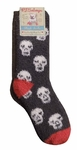 PJ Salvage Fun Sock - Skulls