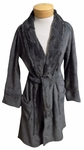 PJ Salvage Robe - Charcoal