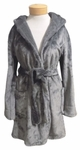 PJ Salvage Silky Robe - Charcoal