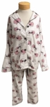 PJ Salvage Sheepy Time Flannel PJ Set - Ivory