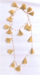 Siganka Tassel Necklace - Gold