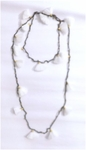 Siganka Tassel Necklace - White