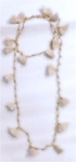 Siganka Tassel Necklace - Cream - SOLD OUT