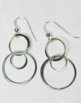 Sosie Mixed Metal Bubble Earrings 2 - SOLD OUT