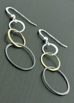 Sosie Mixed Metal Bubble Earrings 1 - SOLD OUT