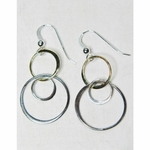 Sosie Mixed Metal Bubble Earrings - Short Version