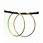 Sosie 14K Gold-Filled Endless Hoops Earrings