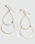 Sosie Rose Gold Over Silver Chandelier Earrings SOLD OUT