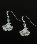 Sosie Silver Gingko Earrings - SOLD OUT