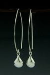 Sosie Silver Kisses Marquis Earrings - SOLD OUT
